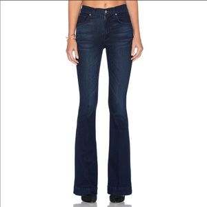 JAMES JEANS Shayebel High Rise Flare Piro Blue NEW